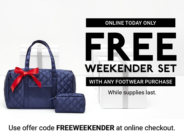 38d94713458 DSW  Hurry! This FREE gift is going fast!