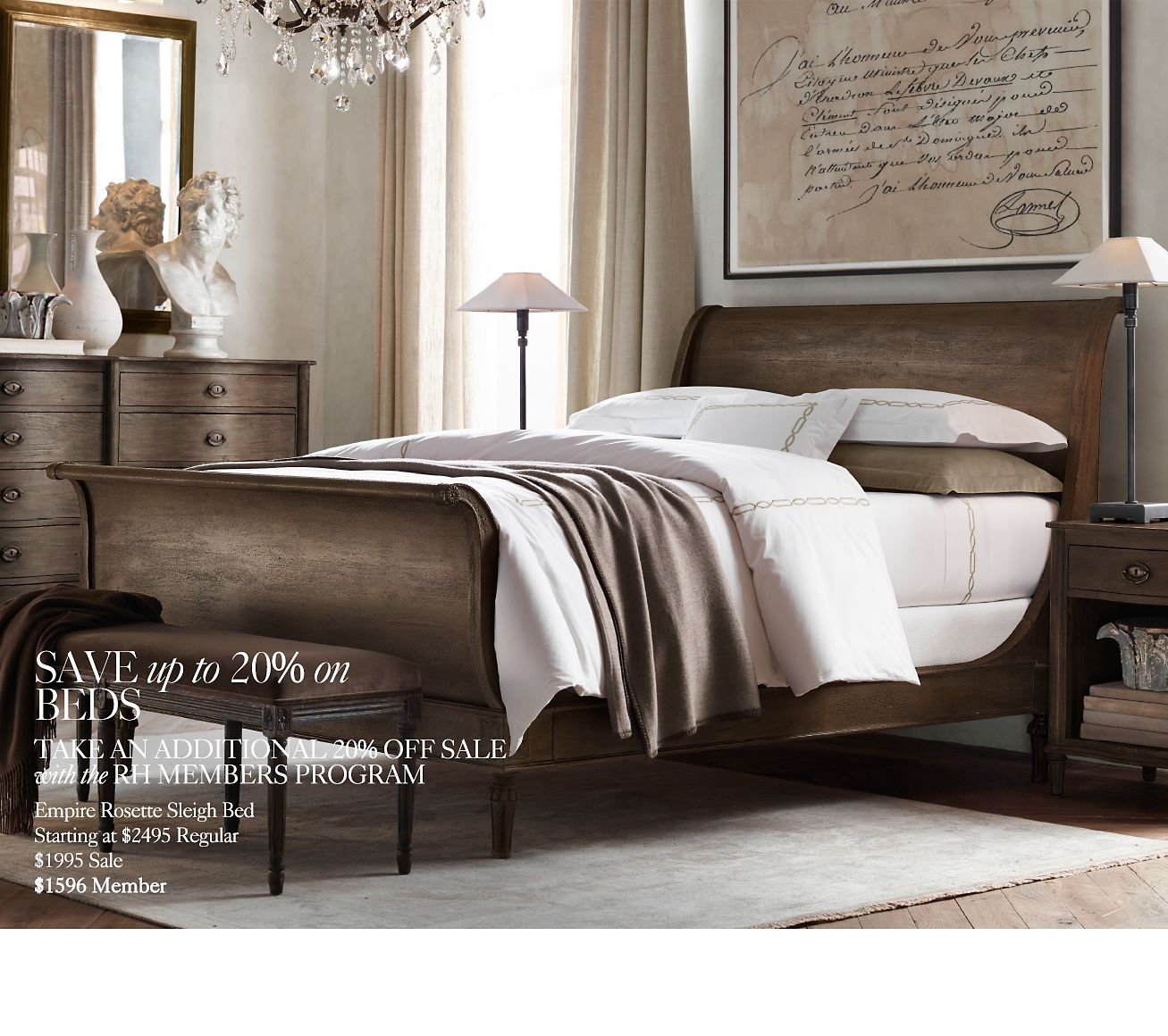Restoration Hardware Sale: Restoration Hardware: Save Up To 50% At The Winter