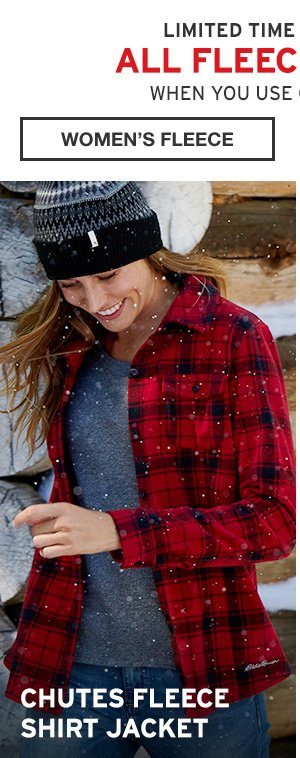 ALL FLEECE 50% OFF | SHOP WOMEN