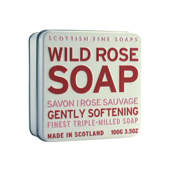 ROSE SOAP & TIN