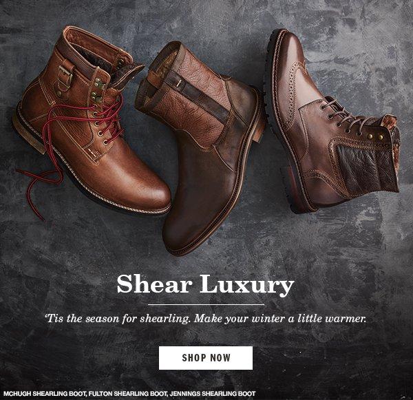 johnston and murphy jennings shearling boot