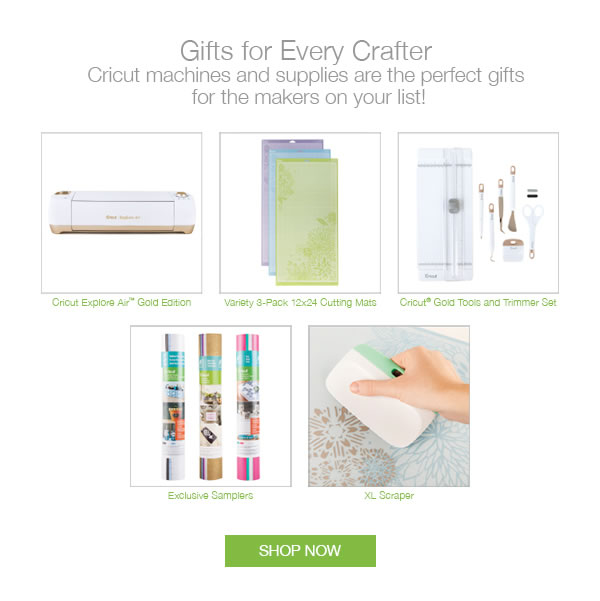 Gifts for Every Crafter. Cricut machines and supplies are the perfect gifts for the makers on your list! SHOP NOW.
