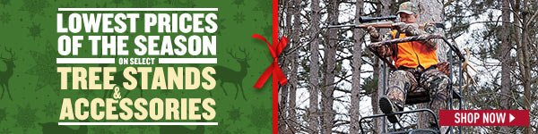 Lowest Prices of the Season on Select Tree Stands & Accessories! Prices in this email are good while supplies last through December 17, 2016.