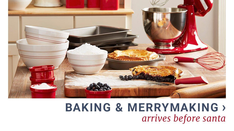 Baking & Merrymaking