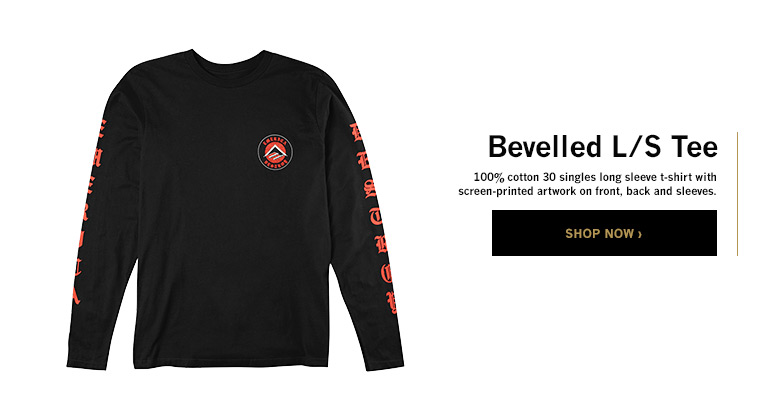 Bevelled L/S Tee