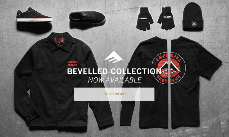 Emerica Bevelled Collection. Now Available!