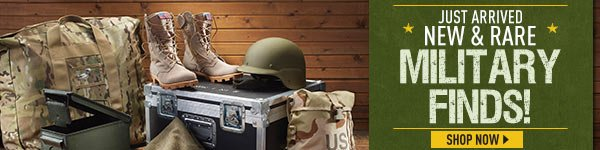 Shop our HUGE Selection of Military Surplus!