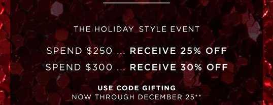 THE HOLIDAY GIFTING EVENT