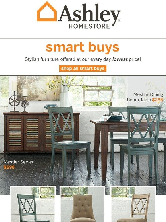 Ashley Homestore: Smart Buy Furniture As Low As $38 | Milled