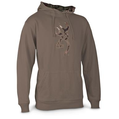 Browning Applique Men's Buckmark Hoodie Jacket