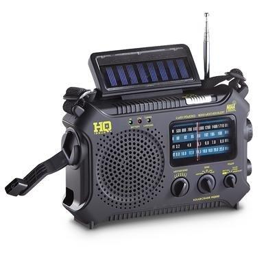 HQ Issue Multi-Band Dynamo & Solar Powered Radio