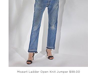 MODERN KANTHA STABSTITCH JERSEY DRESS