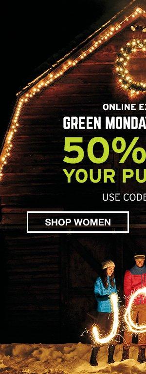50% OFF PURCHASE | SHOP MEN