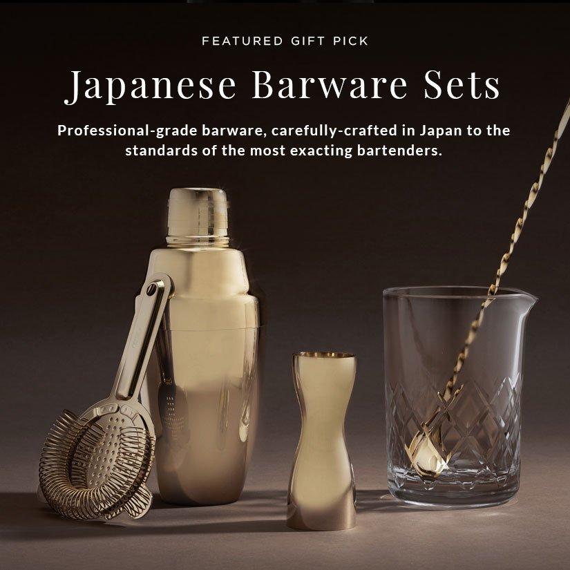 Professional Grade, Japanese Barware Gift Sets