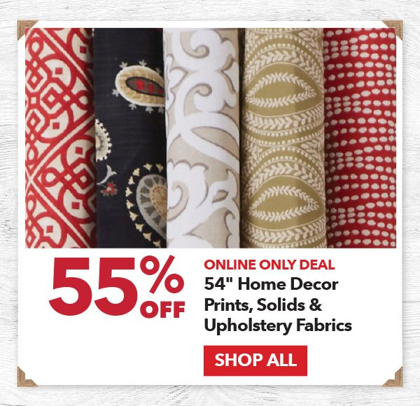 Online Only 55% off 54