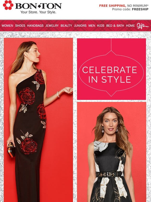 Bonton Celebrate In Style With Dresses We Milled