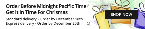 Order Before Midnight Pacific Time Get It In Time For Chrismas.