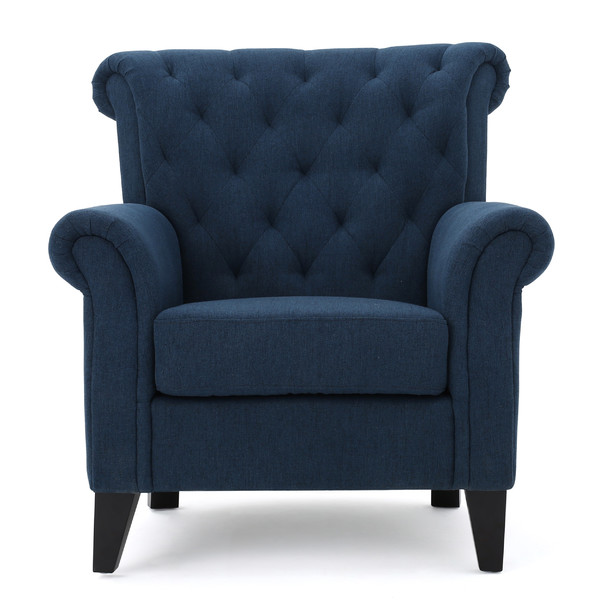 TAMARA TUFTED ARM CHAIR