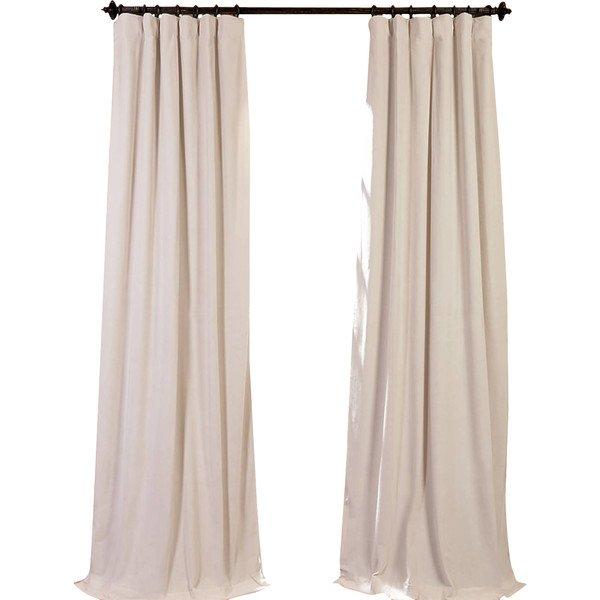 THALIA VELVET BLACKOUT CURTAIN
