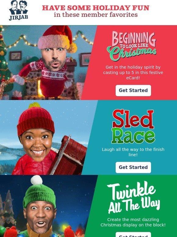 Jibjab Christmas.Jibjab Send Christmas Favorites Milled