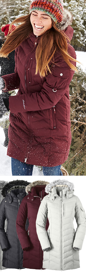 SUN VALLEY DOWN PARKA | WOMEN'S OUTERWEAR