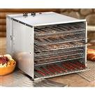 Guide Gear Food Dehydrator, Stainless Steel, 10 Tray
