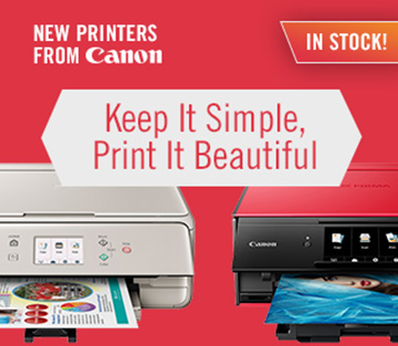 New Printers from Canon