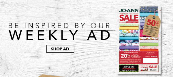 Be Inspired by Our Weekly Ad. SHOP AD.