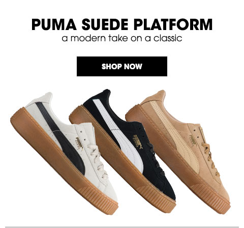 puma basket platform footlocker