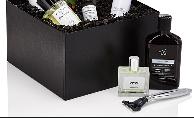 The Barneys boxes were carefully curated with our Beauty Office's must-haves.