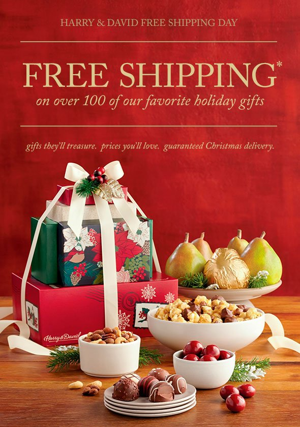 Harry & David: Hurry, time is running out for free shipping on ...