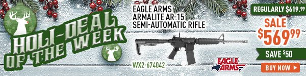 Holi-Deal of the Week - Eagle Arms Armalite AR-15 Semi-Automatic Rifle