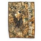 Buckwear Whitetail Hunter Throw Blanket