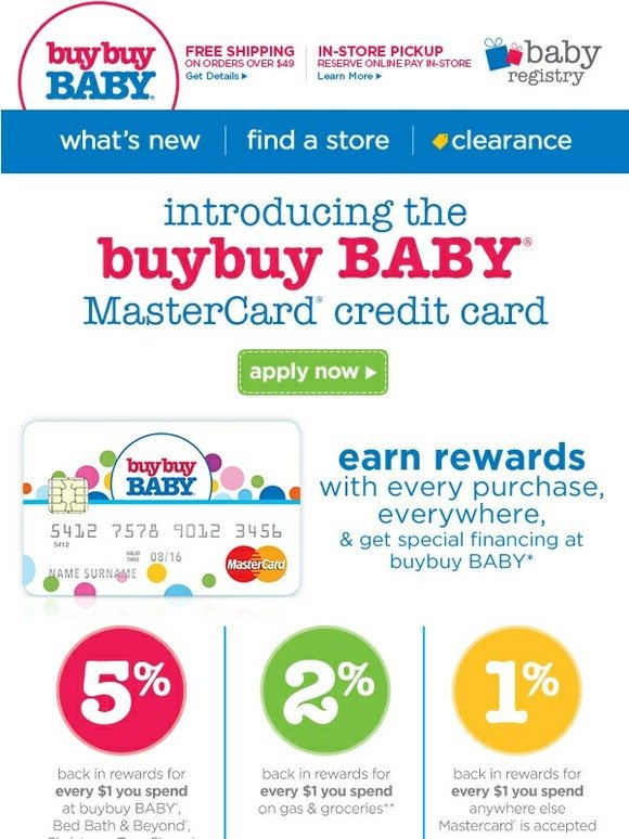 Along with more sleep and fewer dirty diapers, new parents need a stellar credit card to help them rack up serious rewards on all baby-related purchases.