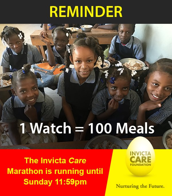 The Invicta Care Marathon is running until Sunday 11:56PM