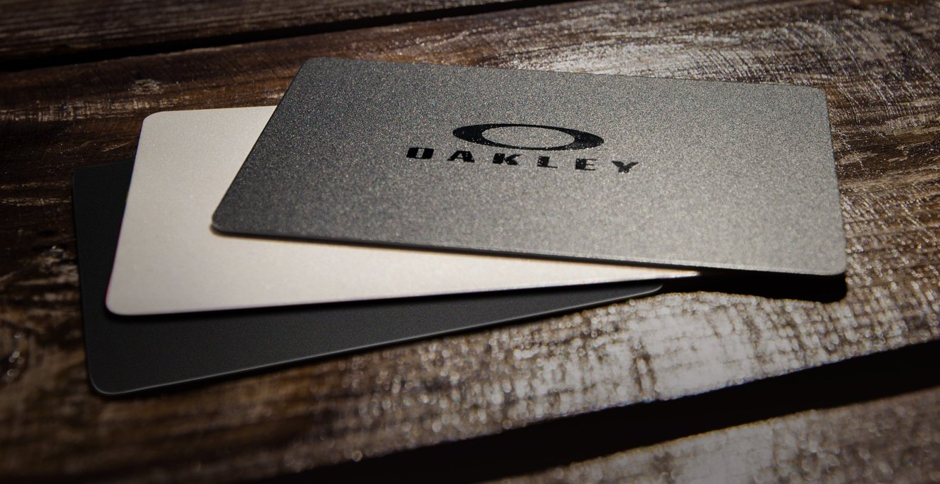 Oakley Holiday Gift Cards have no fees and no expiration dates.