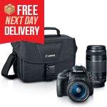EOS Rebel SL1 DSLR with 18-55mm & <br/>75-300mm Lenses