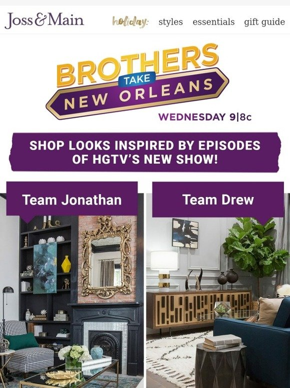 Joss Main Get The Looks From Brothers Take New Orleans Before