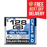128GB CFast 2.0 Cinema Memory Card