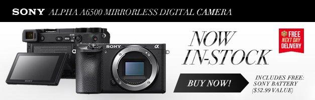 Sony a6500 Alpha Mirrorless Digital Camera