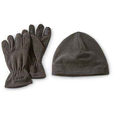 Guide Gear Beanie and Texting Gloves Set