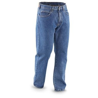 Guide Gear Men's 5-Pocket Jeans, Relaxed Fit
