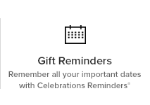 Remember all your important dates with Celebrations Reminders