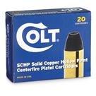 Colt Ammo, .380 ACP, SCHP, 80 Grain, 20 Rounds