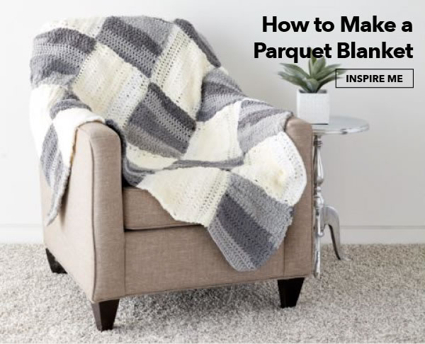 How to make a Parquet Blanket. INSPIRE ME.