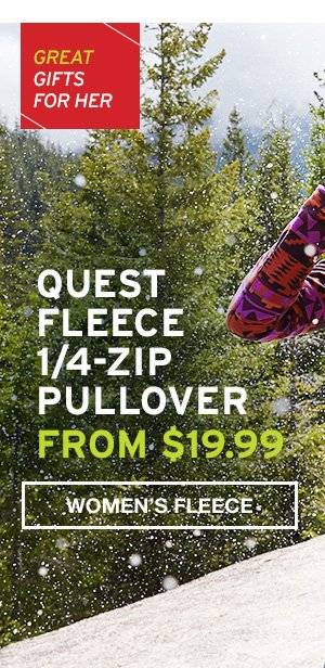 QUEST FLEECE | SHOP WOMEN