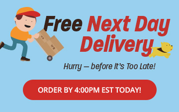 Free Next Day Delivery - Shop gifts that will get there, quick!
