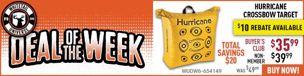 Deal of the Week: Hurricane Crossbow Target
