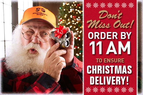 Don't Miss Out! Order By 11 AM to Ensure Christmas Delivery!