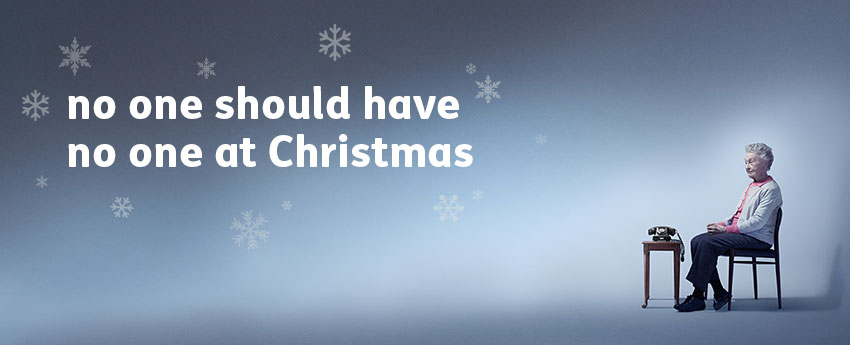 No one should have no one at Christmas